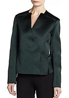 Calvin Klein Collection Technical Asymmetrical Jacket
