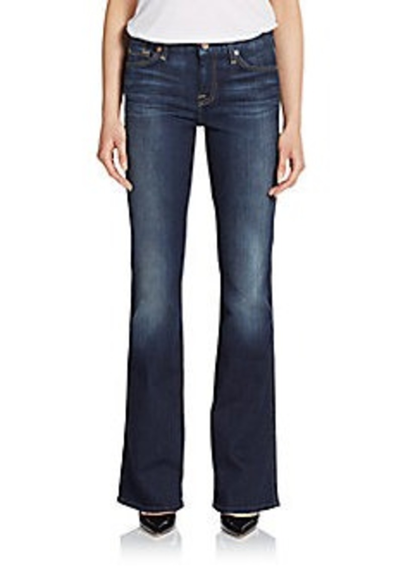 7 for all mankind 7 for all mankind a pocket bootcut jeans sizes 26r 27r 28r 29r 32r and. Black Bedroom Furniture Sets. Home Design Ideas