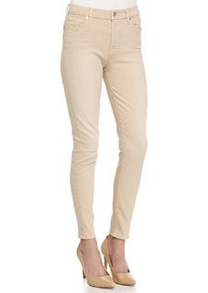 7 For All Mankind Ankle Skinny Denim Leggings, Buff