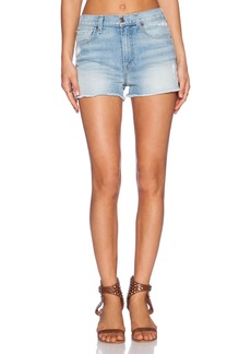 7 For All Mankind High Waisted Short