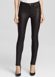 7 For All Mankind Jeans - Bloomingdale's Exclusive High Waist Skinny in Black Crackle