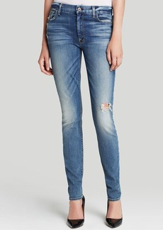 7 For All Mankind Jeans - High Waist Skinny in Absolute Heritage