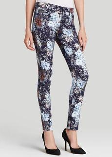 7 For All Mankind Jeans - High Waist Skinny in Duchess Garden Print