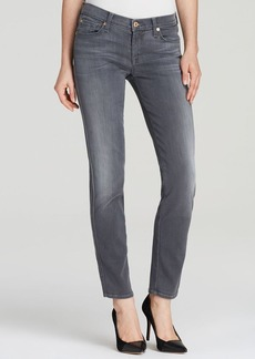 7 for All Mankind Jeans - Slim Cigarette in Grey