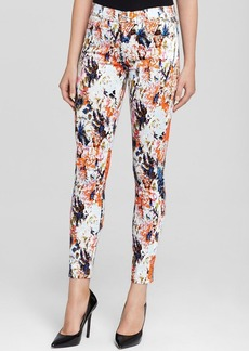 7 For All Mankind Jeans - The Ankle Skinny Floral Haze Print