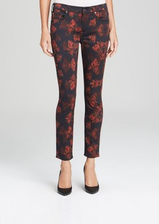 7 For All Mankind Jeans - The Skinny in Rouge Roses Print