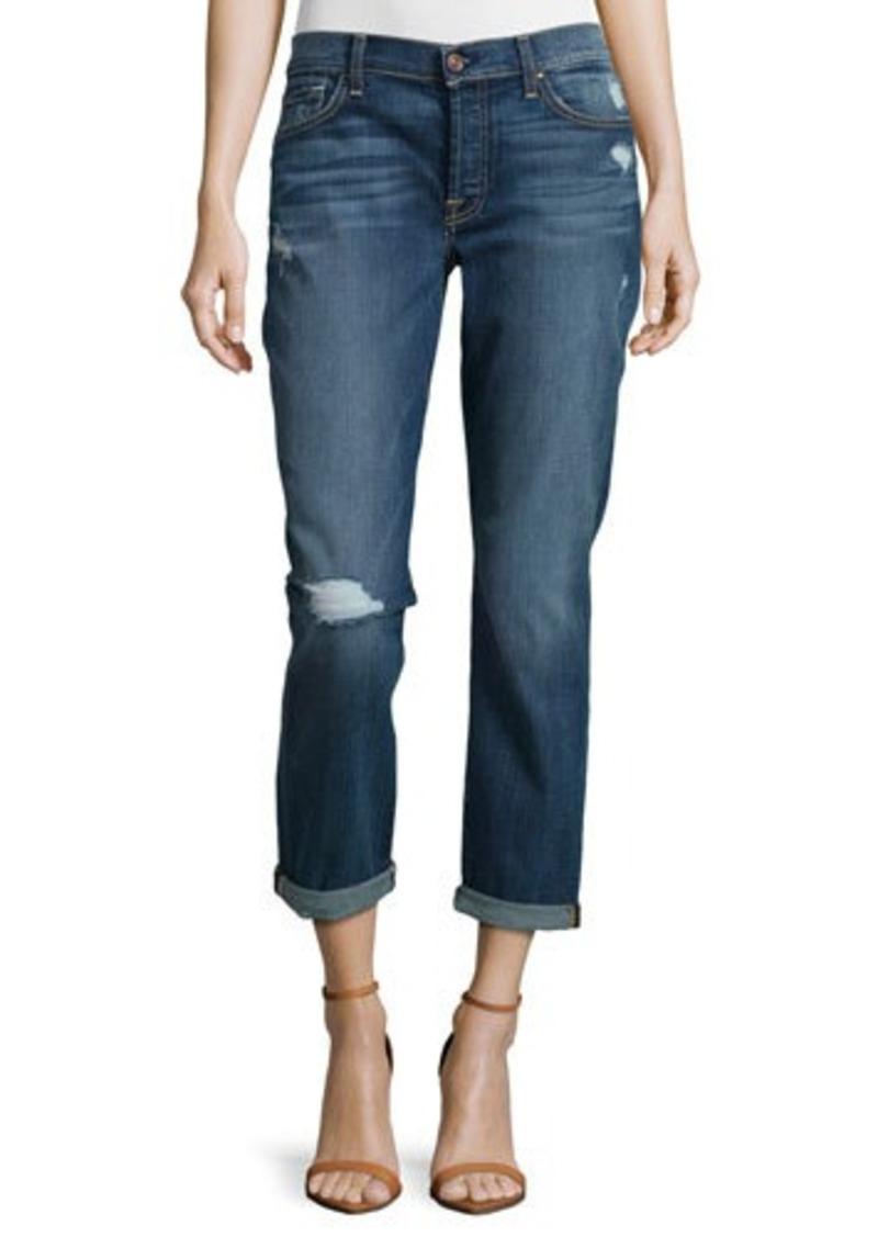 7 for all mankind 7 for all mankind josefina skinny boyfriend jeans sizes 25r 26r 27r 28r. Black Bedroom Furniture Sets. Home Design Ideas