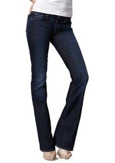 7 For All Mankind Kimmie Midnight NY Dark Curvy Boot-Cut Jeans