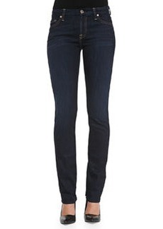 7 For All Mankind Kimmie Straight-Leg Jeans, Slim Illusion Classic Dark Blue