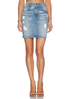 7 For All Mankind Mid Length Pencil Skirt