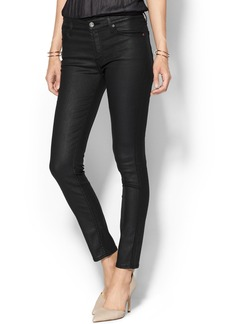 7 For All Mankind Mid Rise Ankle Skinny