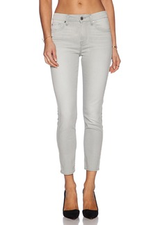 7 For All Mankind Mid Rise Crop Skinny