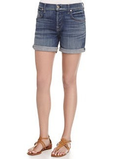 7 For All Mankind Relaxed-Fit Denim Shorts