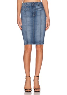 7 For All Mankind Seamed Pencil Skirt