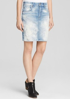 7 For All Mankind Skirt - Bloomingdale's Exclusive Denim