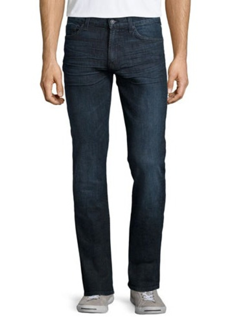 7 for all mankind 7 for all mankind slimmy straight leg jeans sizes 30 31 32 33 34 36 38. Black Bedroom Furniture Sets. Home Design Ideas