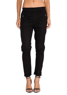 7 For All Mankind Soft Pant in Black