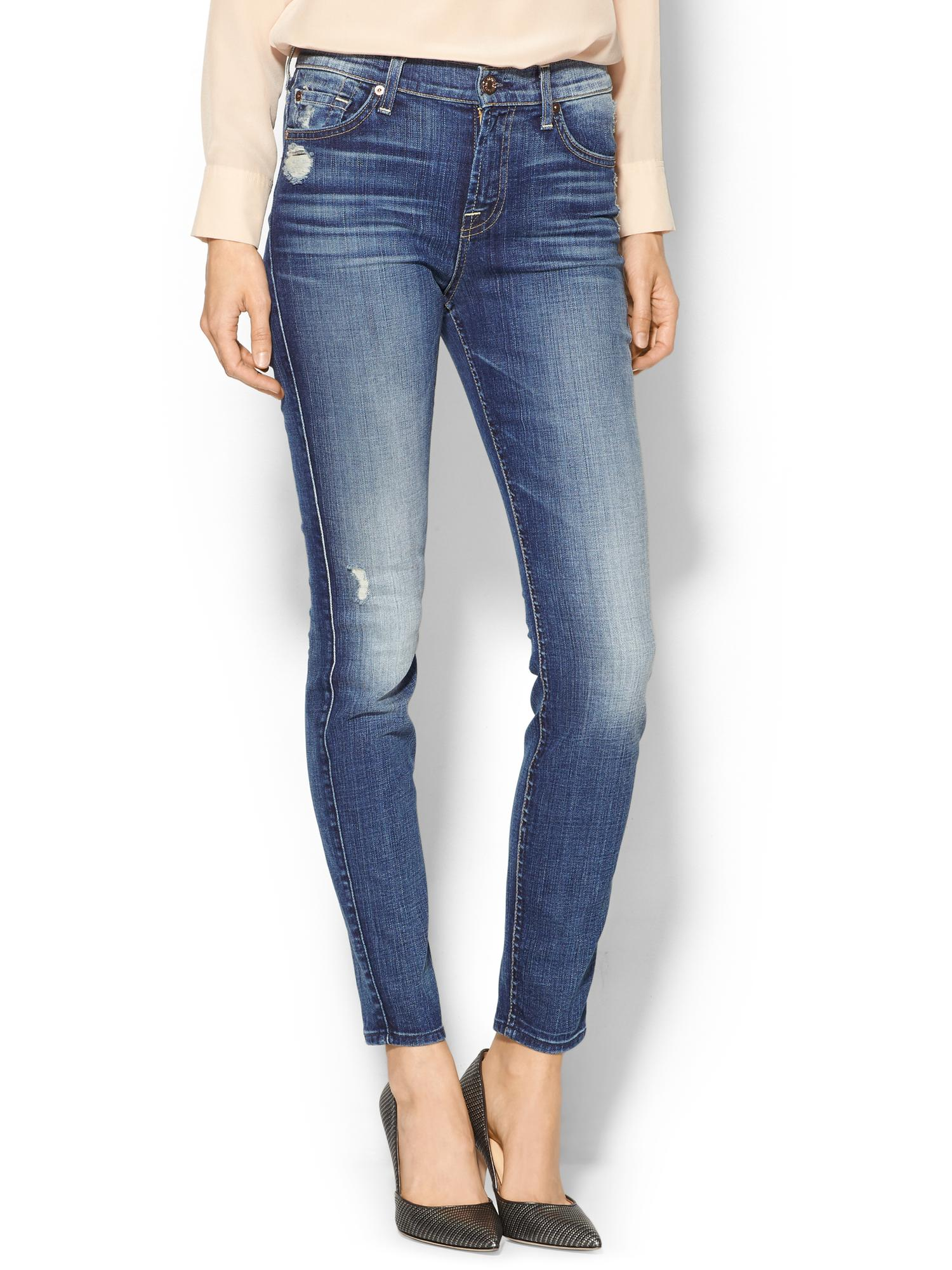 7 for all mankind the ankle skinny jean shop it to me all sales in one place shop it to me. Black Bedroom Furniture Sets. Home Design Ideas