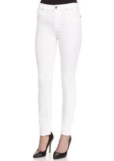 7 For All Mankind The High-Waist Ankle Skinny-Fit Jeans