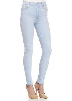 7 For All Mankind The High Waisted Skinny-Fit Denim Jeans