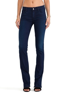 7 For All Mankind The Skinny Bootcut in Second Skin Slim Illusion Dark Blue