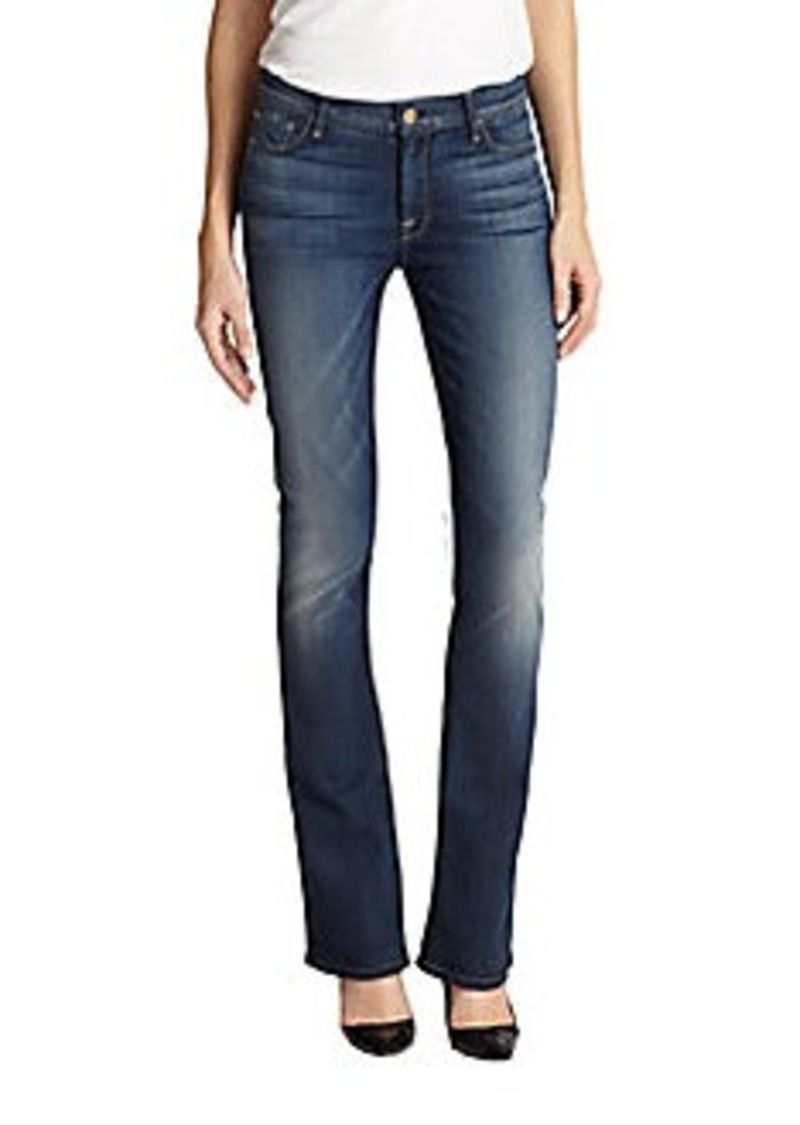 7 for all mankind 7 for all mankind the skinny bootcut jeans denim shop it to me. Black Bedroom Furniture Sets. Home Design Ideas