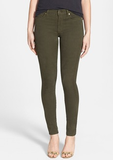 7 For All Mankind® Brushed Sateen Skinny Pants