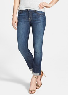 7 For All Mankind® Crop Skinny Jeans (Nouveau New York Dark)