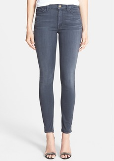 7 For All Mankind® High Rise Ankle Skinny Jeans (Bastlegry)