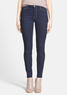 7 For All Mankind® High Rise Skinny Jeans (Rich Dark Rinse) (Nordstrom Exclusive)