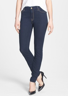 7 For All Mankind® High Rise Skinny Jeans (Rinsed Indigo)