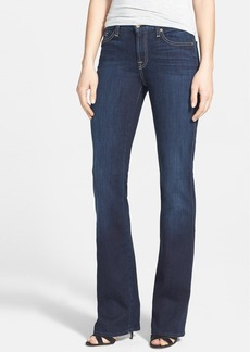 7 For All Mankind® 'Kimmie' Bootcut Jeans (Black Night)