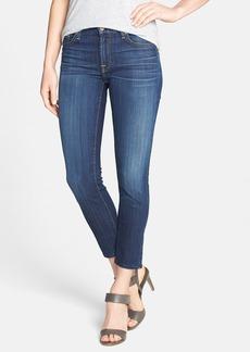 7 For All Mankind® 'Kimmie' Crop Skinny Jeans (Malibu Coast)