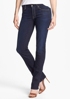 7 For All Mankind® 'Kimmie' Straight Leg Jeans (Black Night)