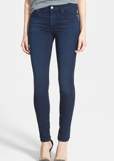 7 For All Mankind® Mid Rise Skinny Jeans (Luxe Rich Blue)