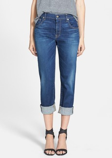7 For All Mankind® Relaxed Skinny Jeans (Genuine Medium Indigo)