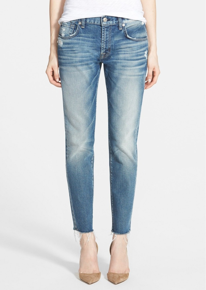 7 for all mankind relaxed skinny jeans true heritage blue shop it to me all sales in one. Black Bedroom Furniture Sets. Home Design Ideas