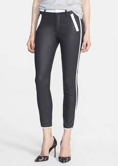 7 For All Mankind® 'Sportif Chino' Coated Crop Pants