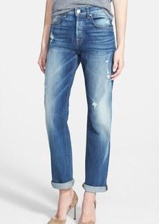 7 For All Mankind® 'The 1984' Boyfriend Jeans (Destroyed Deep Indigo)