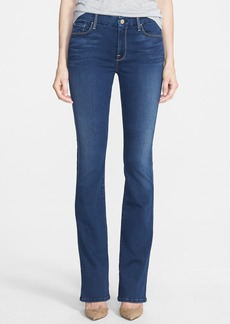 7 For All Mankind® 'The Skinny' Bootcut Jeans (Luxe Brilliant Blue)