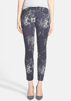 7 For All Mankind® 'The Skinny' Stretch Ankle Skinny Jeans (Mystic Floral)