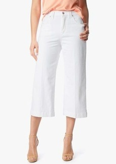 Culotte with Trouser Hem in Runway White