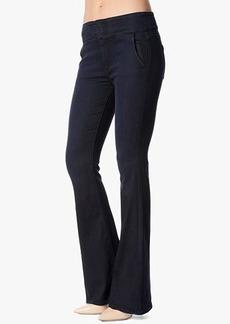 Fashion High Waist Wide Leg Trouser in Lilah Blue Black 2