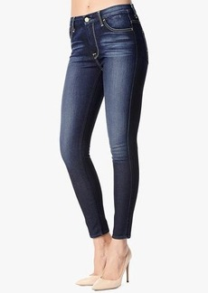 "High Waist Ankle Skinny Contour in Riche Touch Medium Dark (28"" Inseam)"
