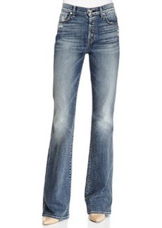 7 For All Mankind High-Waisted Vintage Boot-Cut Jeans