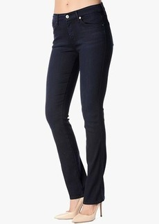 Mid Rise Kimmie Straight in Lilah Blue Black