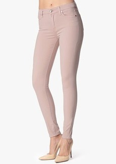Mid Rise Skinny Contour in Blush Pink