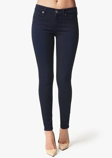 Mid Rise Skinny Contour in Midnight Navy Knit Denim