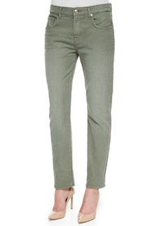 Relaxed Slim-Fit Denim Jeans, Fatigue   Relaxed Slim-Fit Denim Jeans, Fatigue
