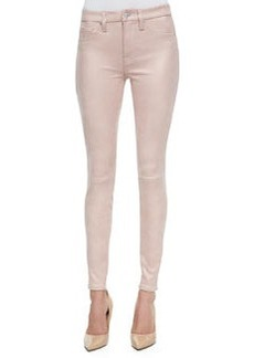 Seamed Faux Leather Skinny Pants   Seamed Faux Leather Skinny Pants